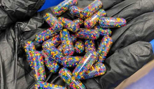 Sustained release pellets